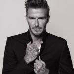 David Beckham zeigt seine Tattoos