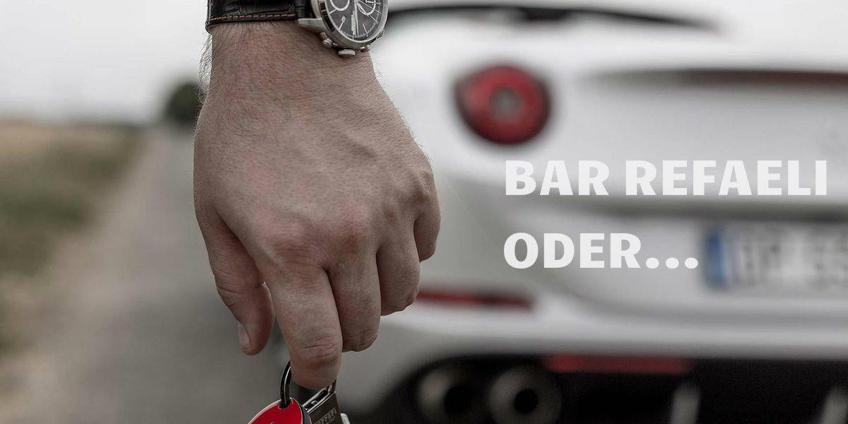 Bar Refaeli oder der Ferrari California T