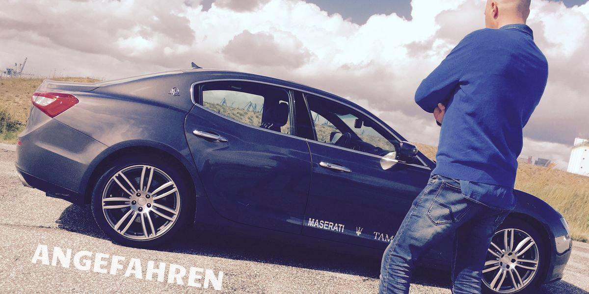 Angefahren: Maserati Ghibli S Q4 by Tamsen