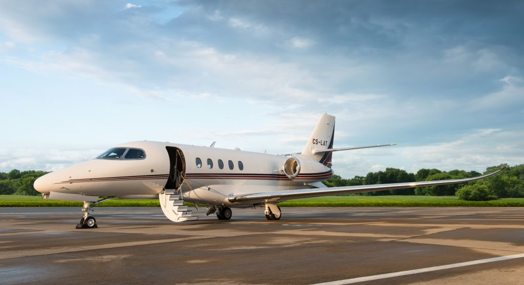 NetJets Cessna Citation Latitude