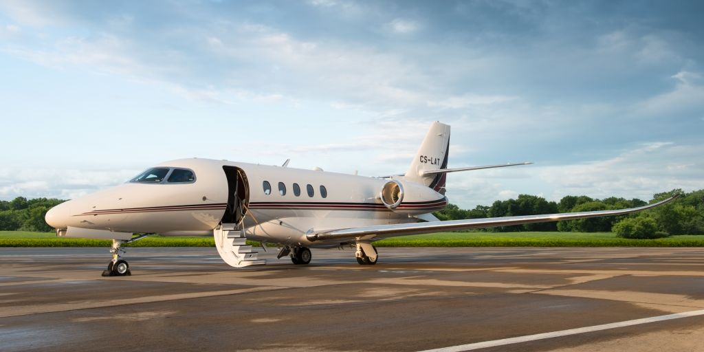 Die Destinationen der Privatjets