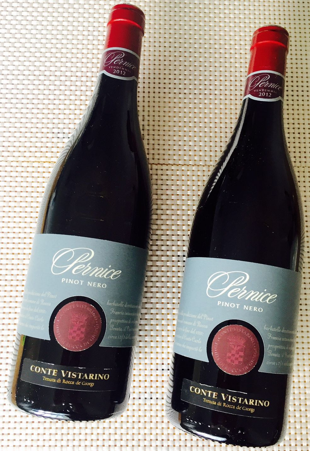 Pernice, Conte Vistarino, Pinot Nero, 2012
