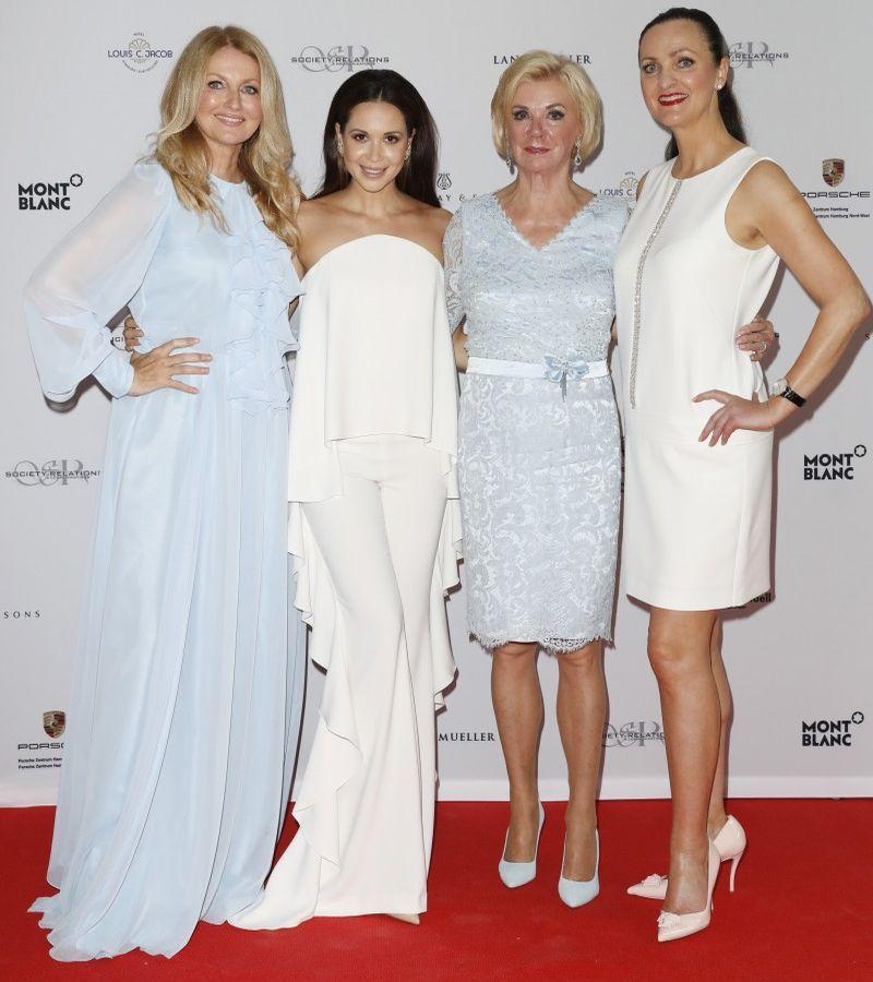 Frauke Ludowig, Grace Capristo, Liz Mohn, Brita Segger