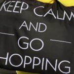 Keep Calm: Vergiss die Plastiktüte