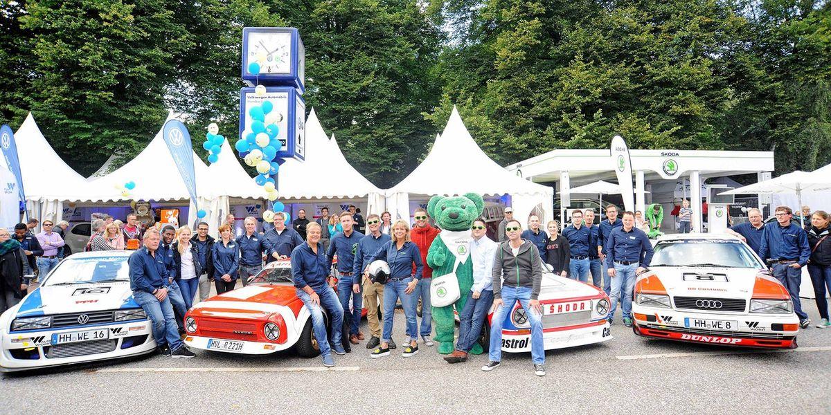 Tradition beim Hamburger Stadtpark-Revival