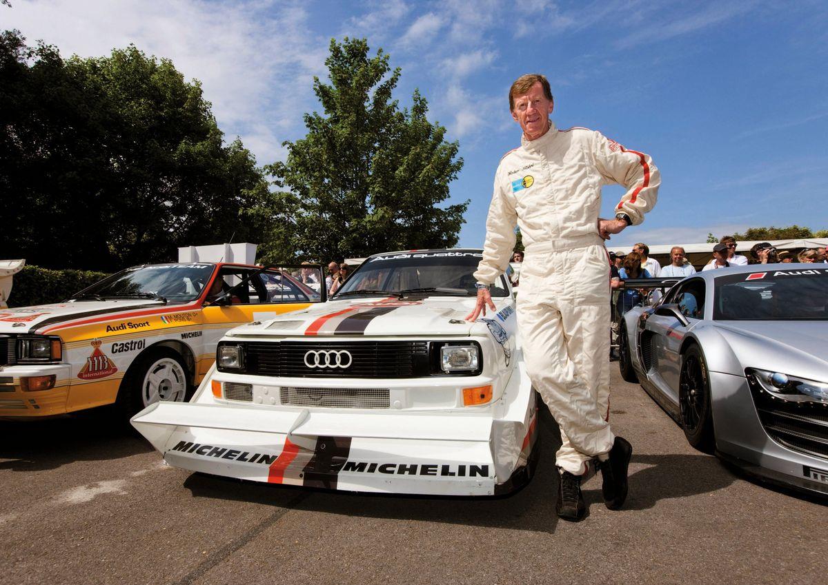 Walter Röhrl und sein Audi Sport quattro S1