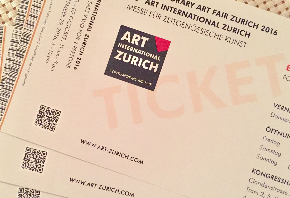 #ArtZurich: Happening Now