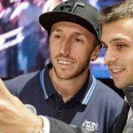 "Selfie-Boom: Antonio ""Tony"" Cairoli bei Fiat Professional"