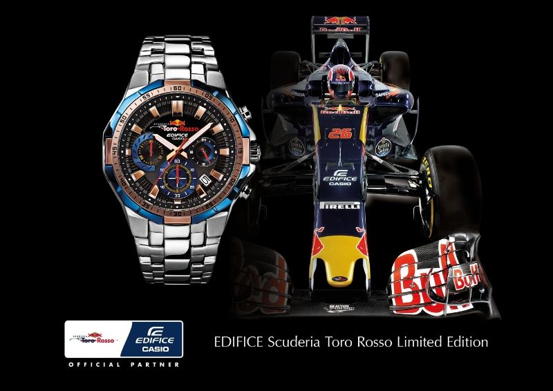 Casio Edifice EFR-554TR Scuderia Toro Rosso Limited Edition
