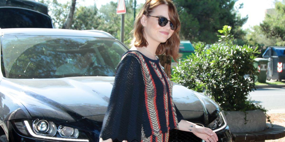 Jaguar F-Pace shuttelt Emma Stone
