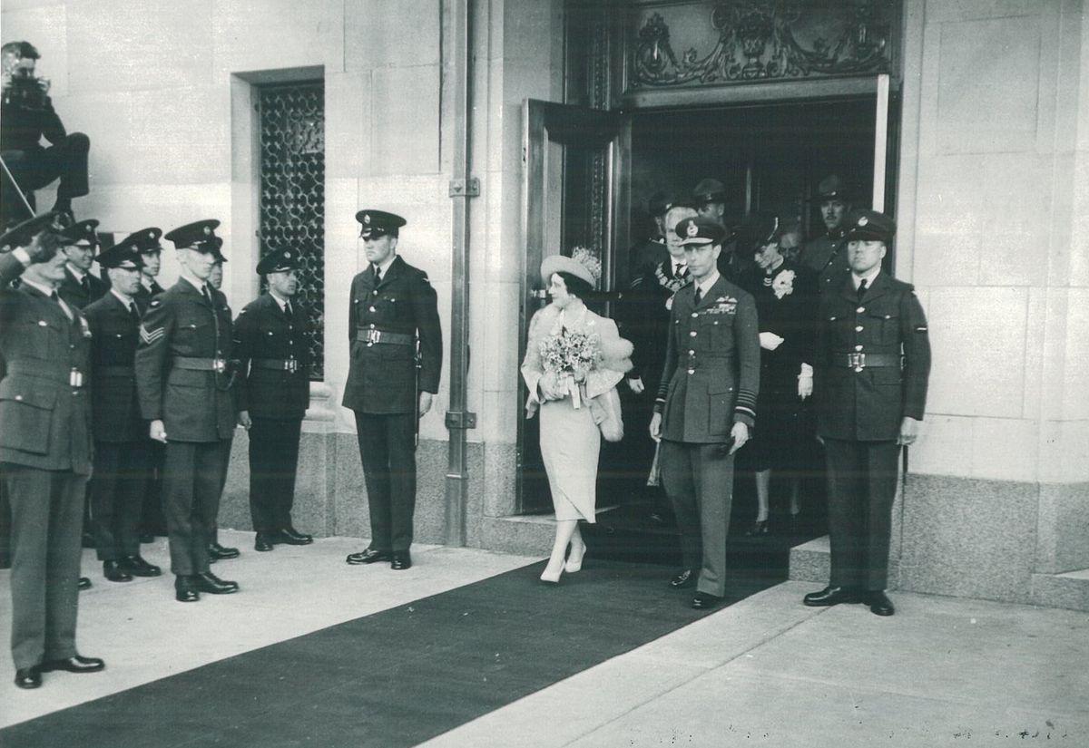 Fairmont Hotel Vancouver: König George VI, Queen Elizabeth (1939)
