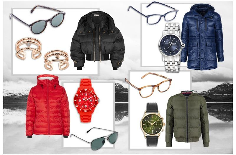 Fashion: Accessoires für Winter-Daunenjacken