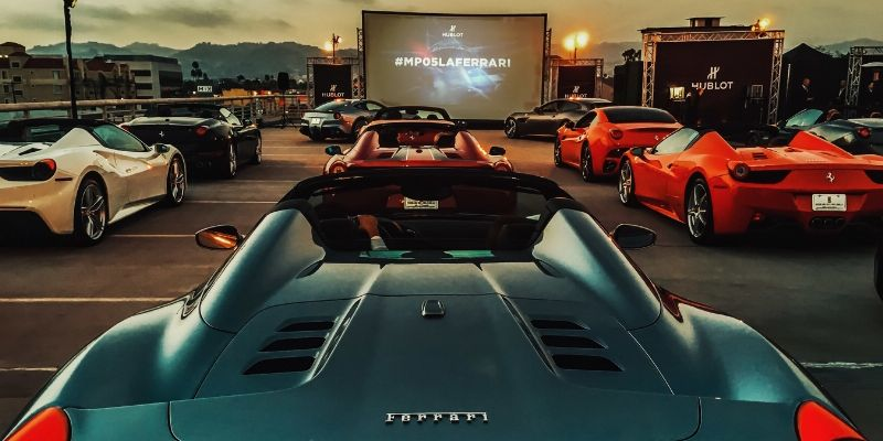 Hublot-Film: Ferrari FXX K in Los Angeles