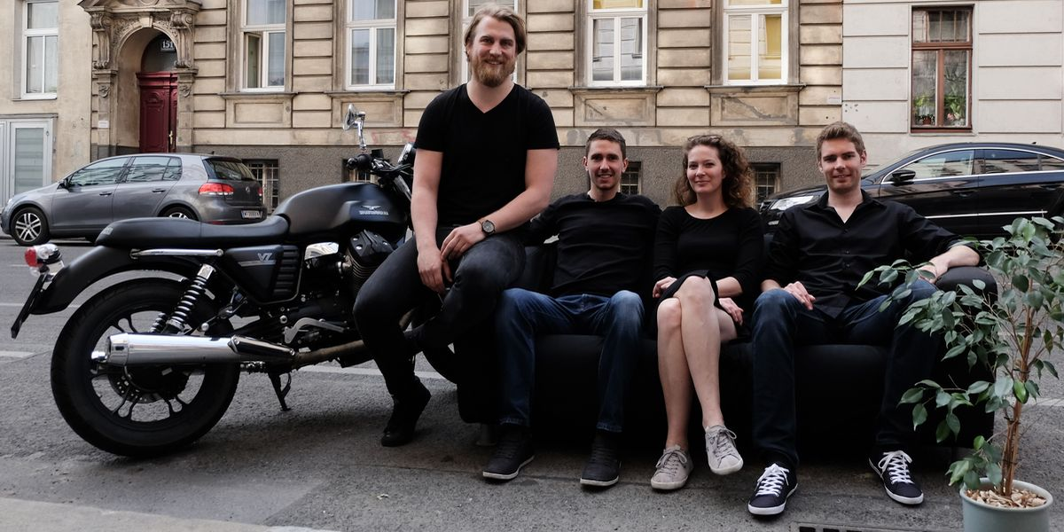 Riser: Dominik Koffu, Peter Benkö, Nora Dejaco, Thomas Preißler