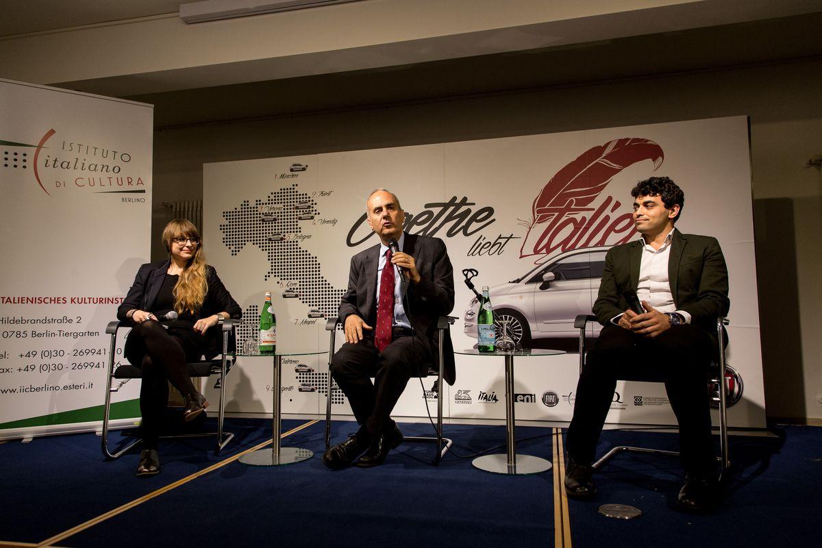 Laura Droße, Luigi Reitani, Andrea D'Addio