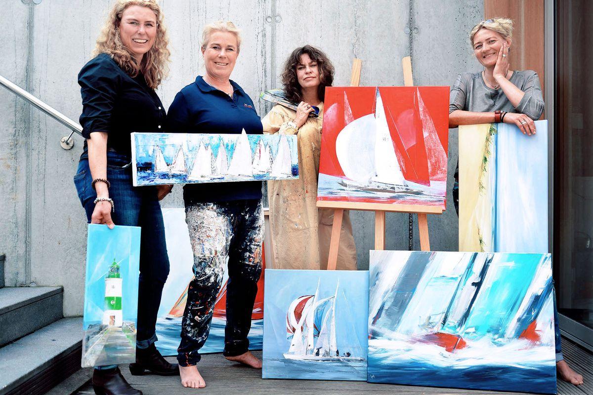 Künstlerinnen: Susanne Westphal, Heinke Böhnert, Christine Aulbach, Ines Ramm