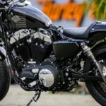 Thunderbike: Battlecruise H50 auf der Harley Davidson Forty-Eight