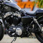 Thunderbike: Battlecruise H50 auf der Harley-Davidson Forty-Eight