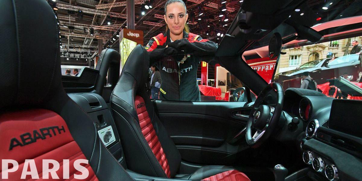 Impressionen: Fiat, Alfa, Jeep und Abarth auf dem Autosalon Paris