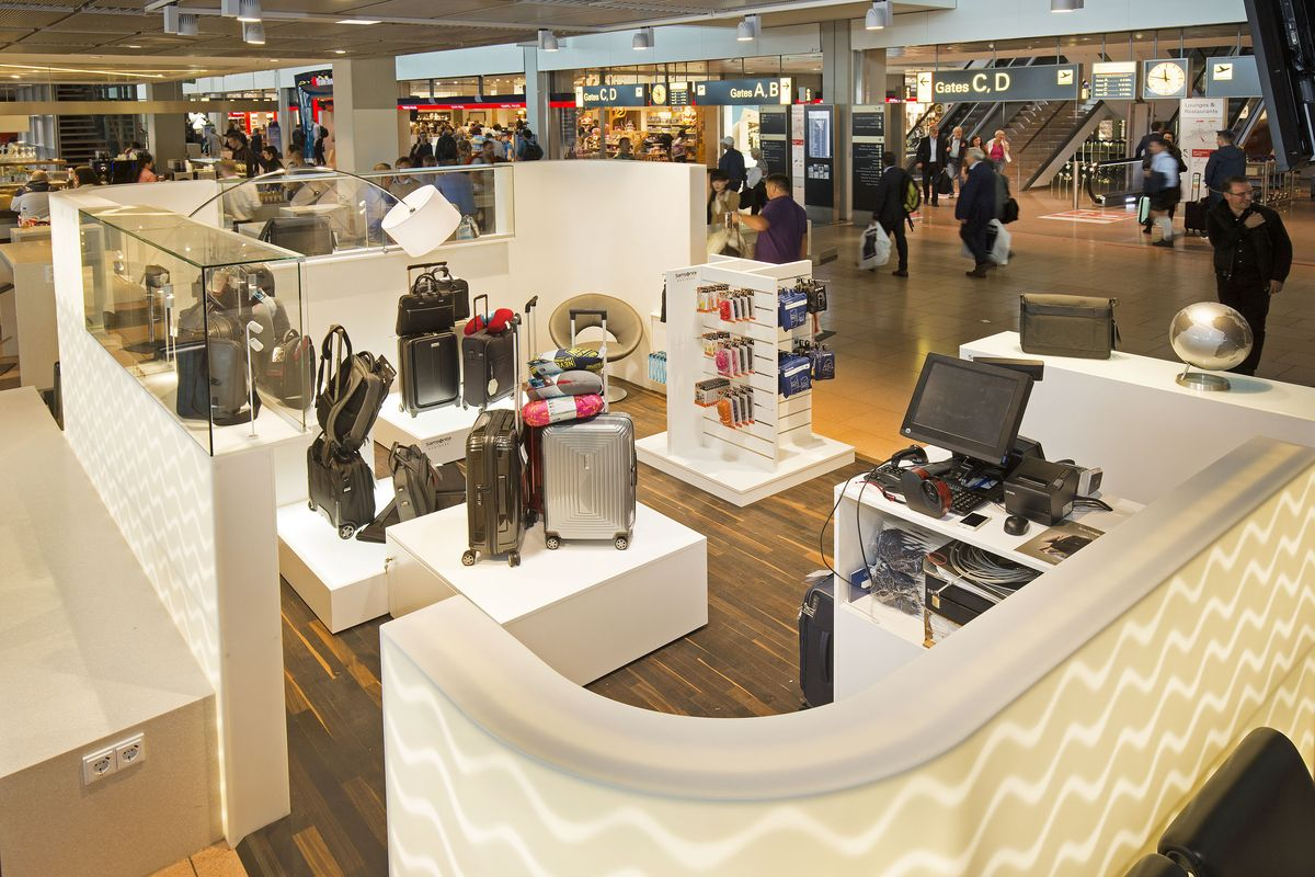 Pop-Up-Store am Hamburg Airport