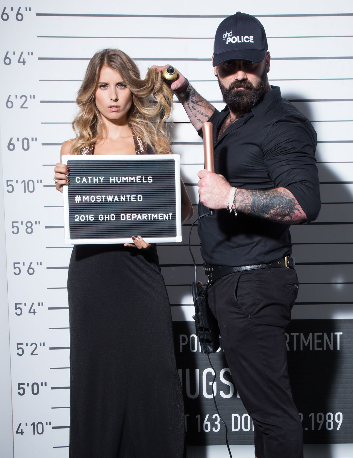 Cathy Hummels, Mr. Policeman
