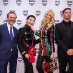 Paolo Fontanelli, Sung-Joo Kim, Claudia Schiffer, Michael Michalsky