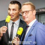 Box-Experte Wladimir Klitschko, RTL-Moderator Florian König