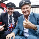 The Hoff fährt London Taxi