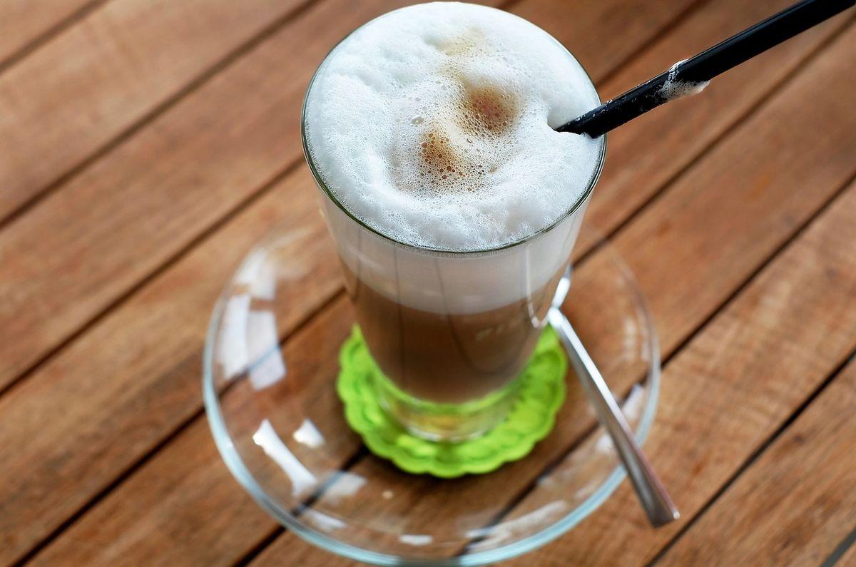 Latte Macchiato: Im Trend als Golden-Latte