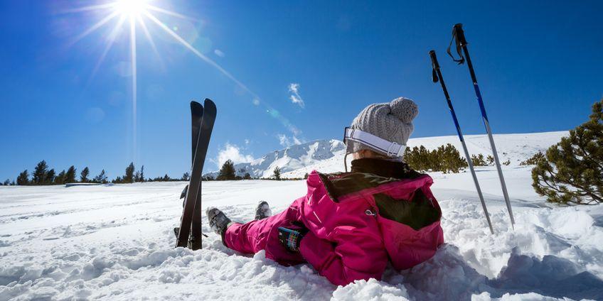 Mit der Fleecejacke in den Skiurlaub