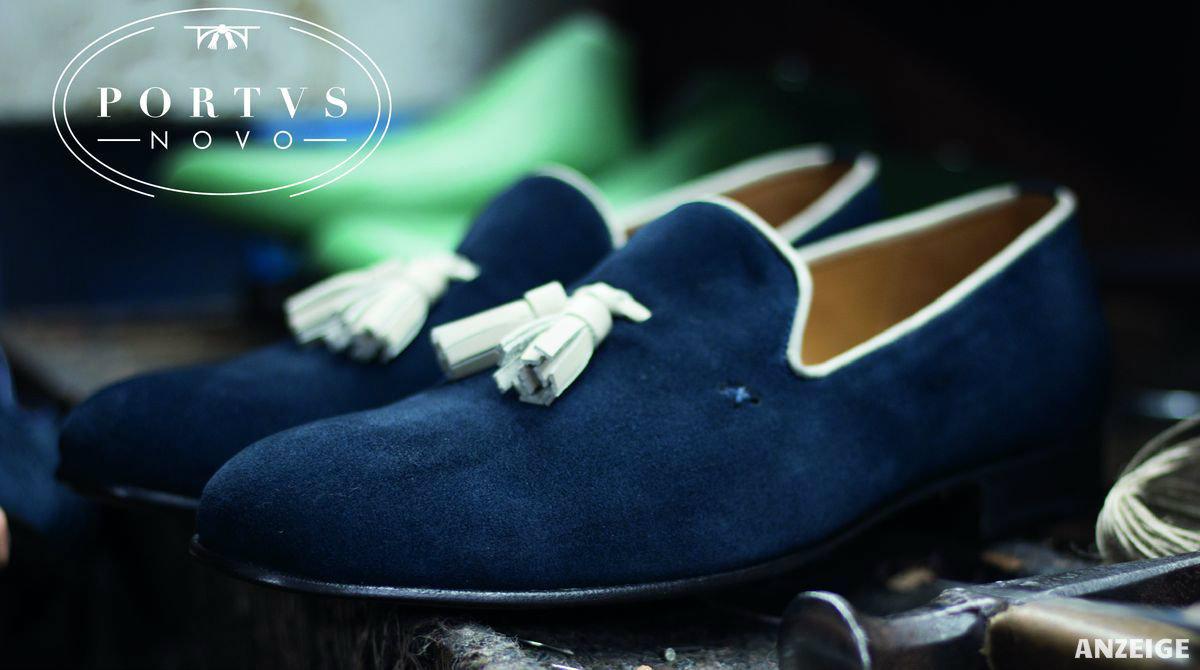Portus Novo - Handgefertigte, rahmengenähte Schuhe