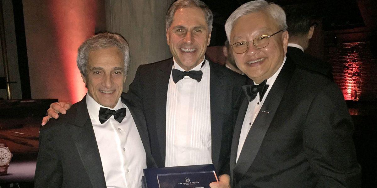 Roberto Naldi (Roberto Naldi Collection), Giuseppe Rossi (Splendide Royal Hotel), Ted Teng (The Leading Hotels of the World)