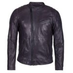 Freaky Nation, Herren Lederjacke, Collin