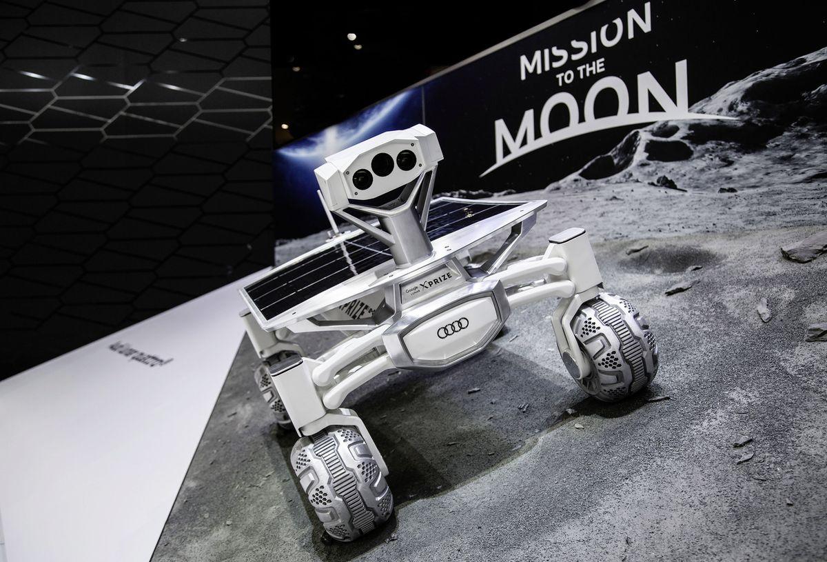 Vier Ringe entern den Mond: Audi Lunar Quattro