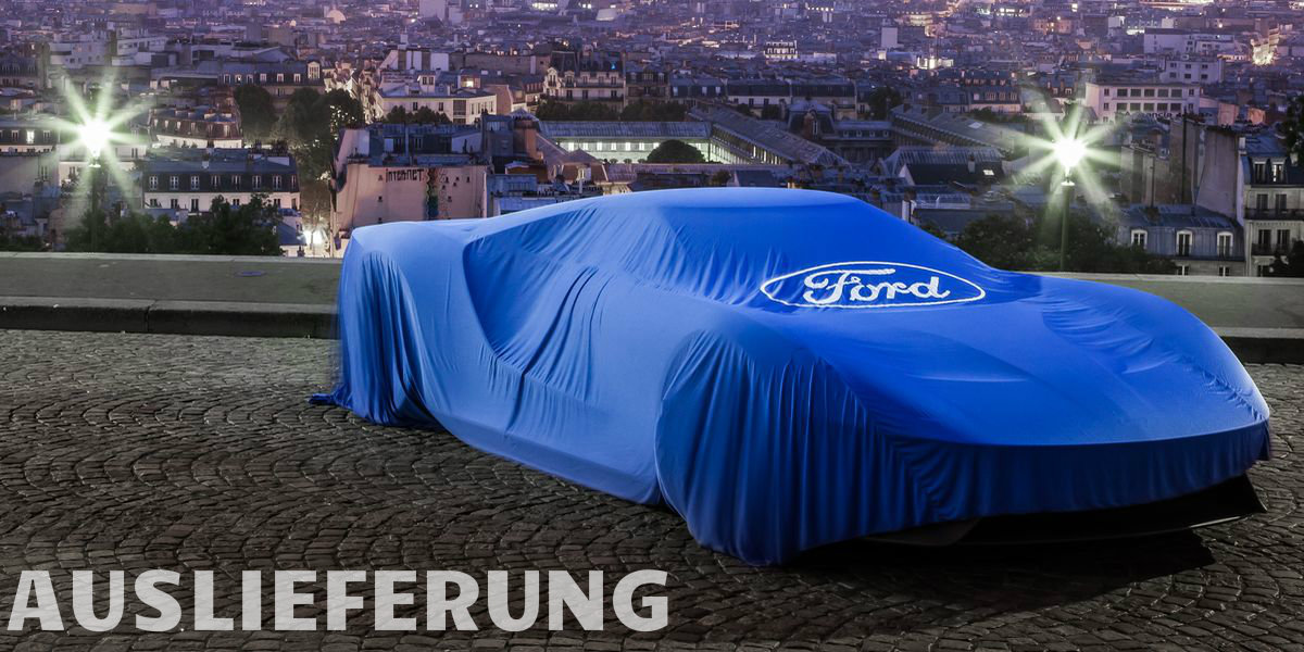 Ford GT unterm Weihnachtsbaum