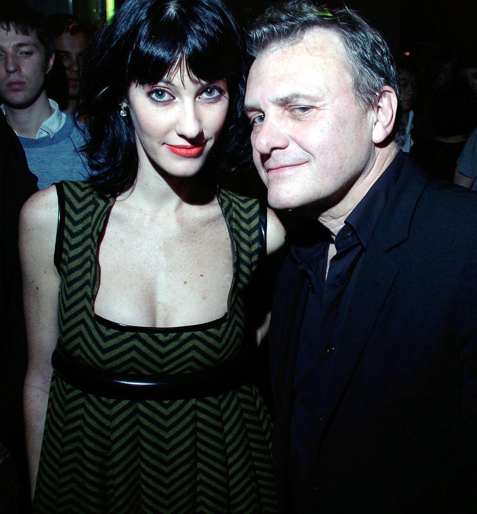 Jean-Charles Castelbajac mit Schauspielerin Mareva Galanter