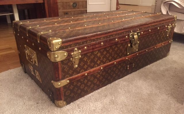 Louis Vuitton Trunk Malle Cabin Monogram (ab 1896)