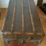 Louis Vuitton Malle Armoire, Schrankkoffer (unrestauriert)