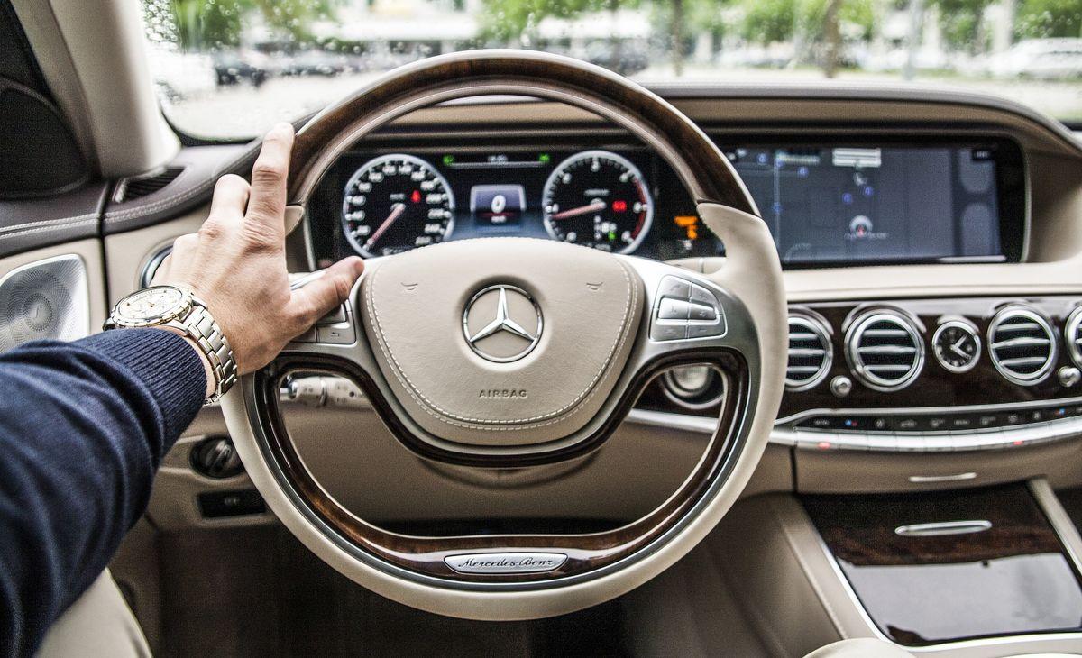 Luxusautos mit Wachstum