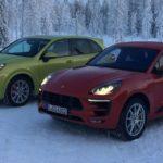 Finnland: Porsche Macan Turbo auf Eis