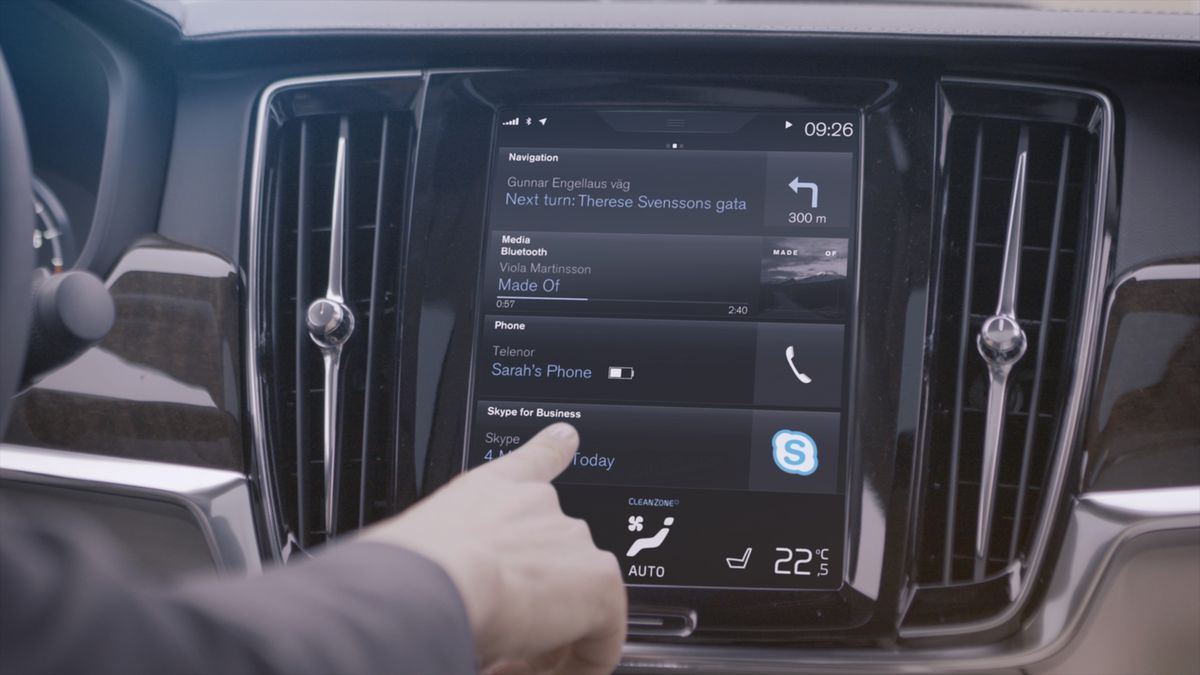 Skype for Business bei Volvo