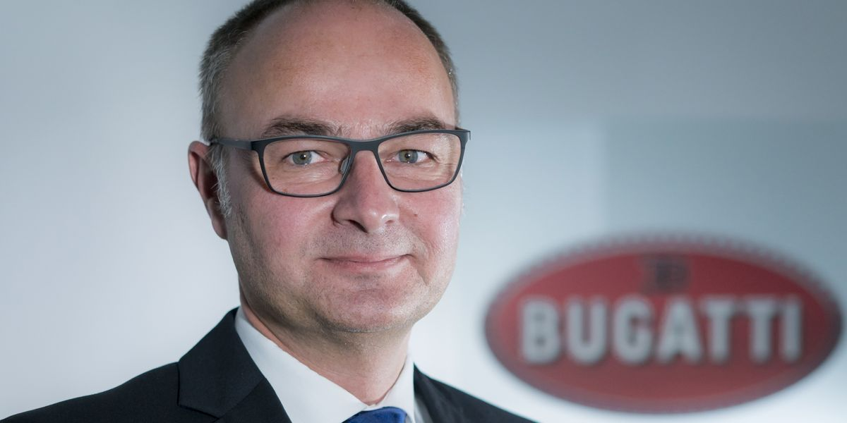Stefan Ellrott macht den Bugatti-Job