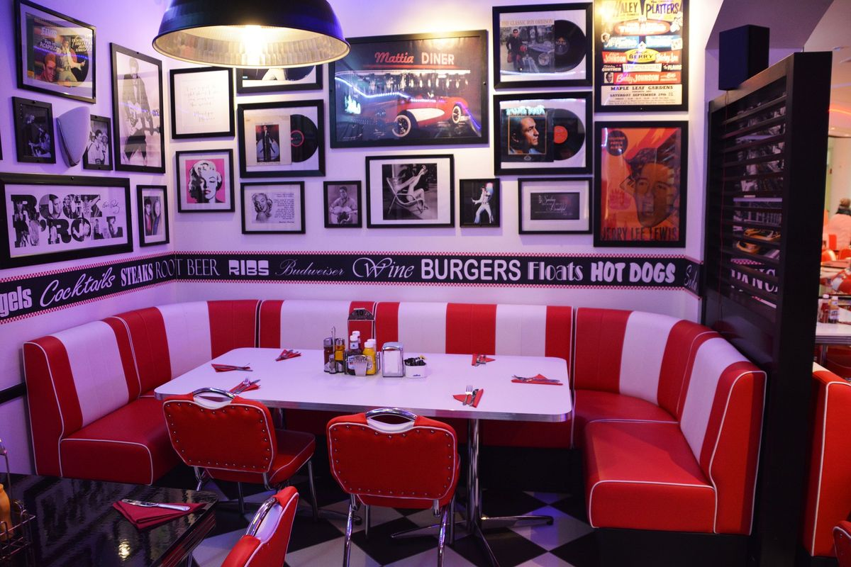 American diner speisen im us style shots magazin for Diner picture
