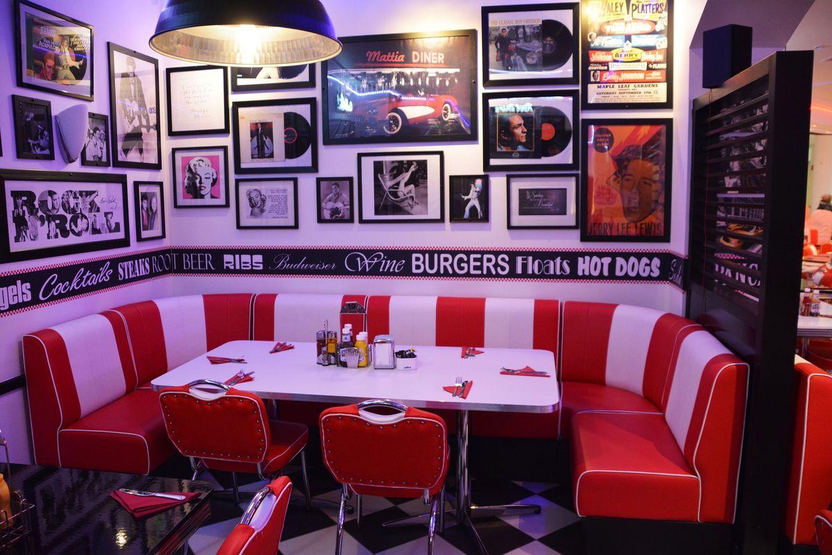 American Diner: Speisen Im US Style
