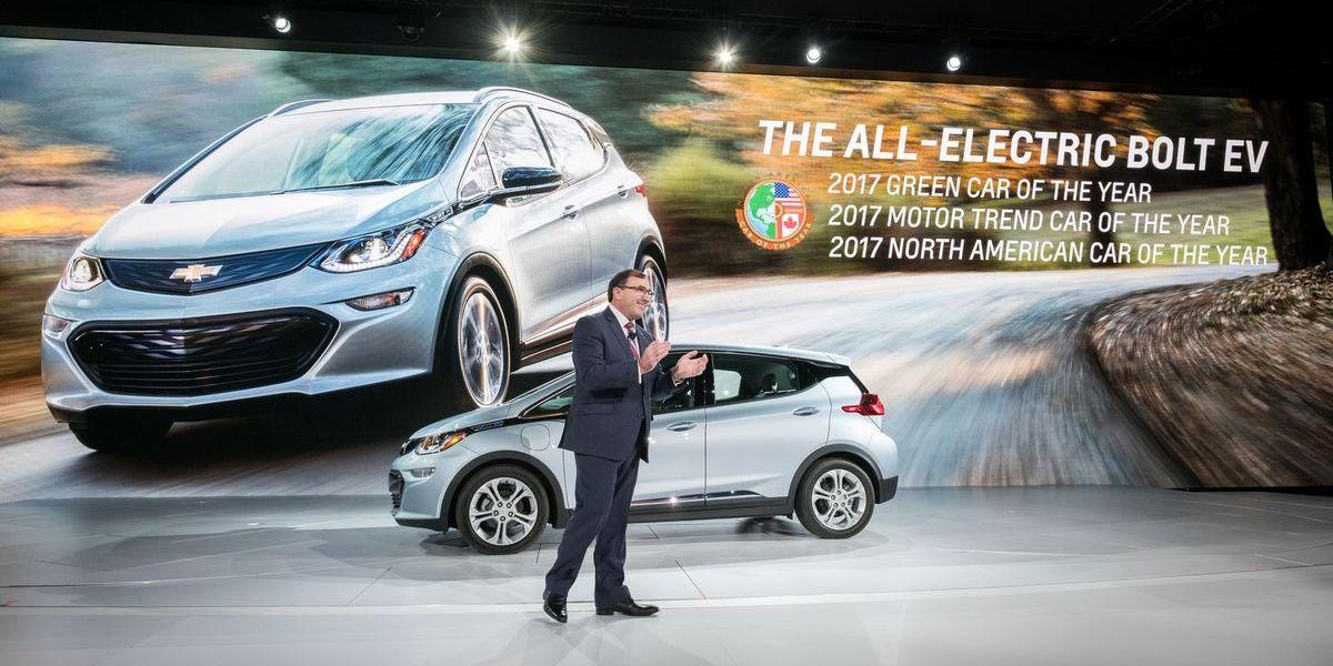 Chevrolet Bolt EV: Trumplands Auto des Jahres