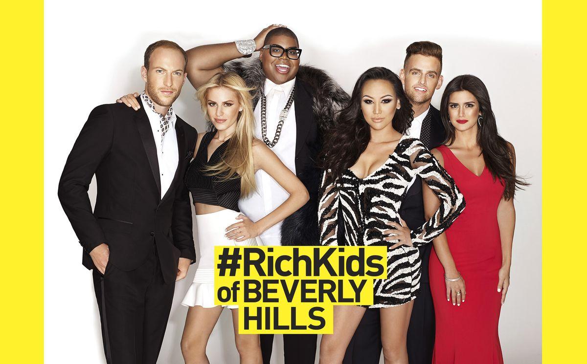 Rich Kids Of Beverly Hills: Brendan Fitzpatrick, Morgan Stewart, EJ Johnson, Dorothy Wang, Jonny Drubel, Roxy Sowlaty