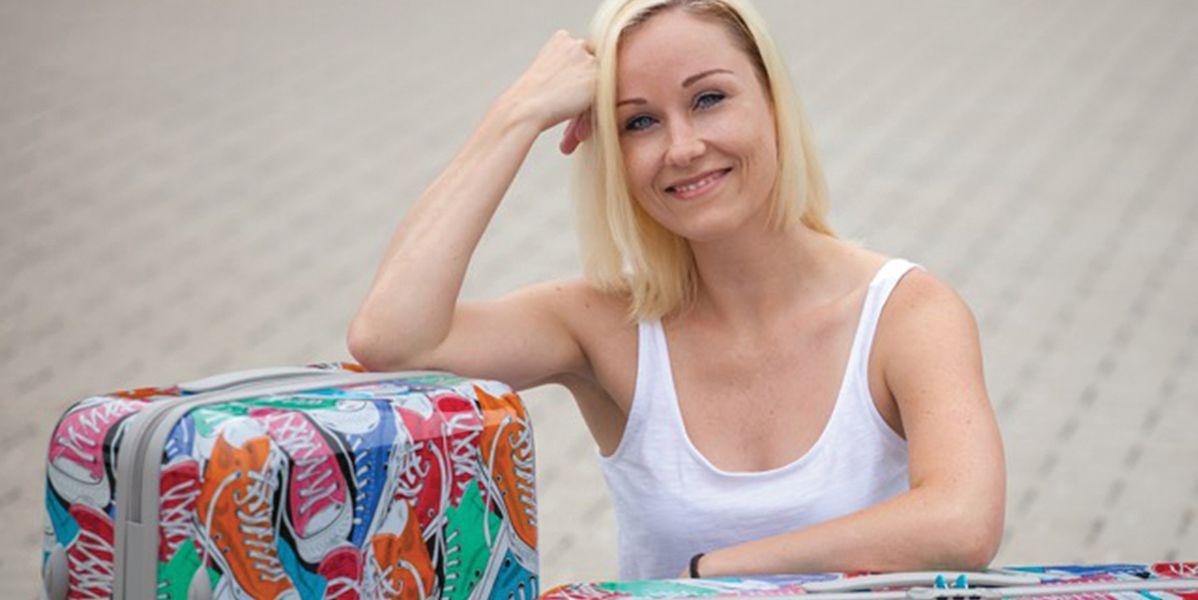 Roarrrr: Künstlerin entwickelt Reisegepäck