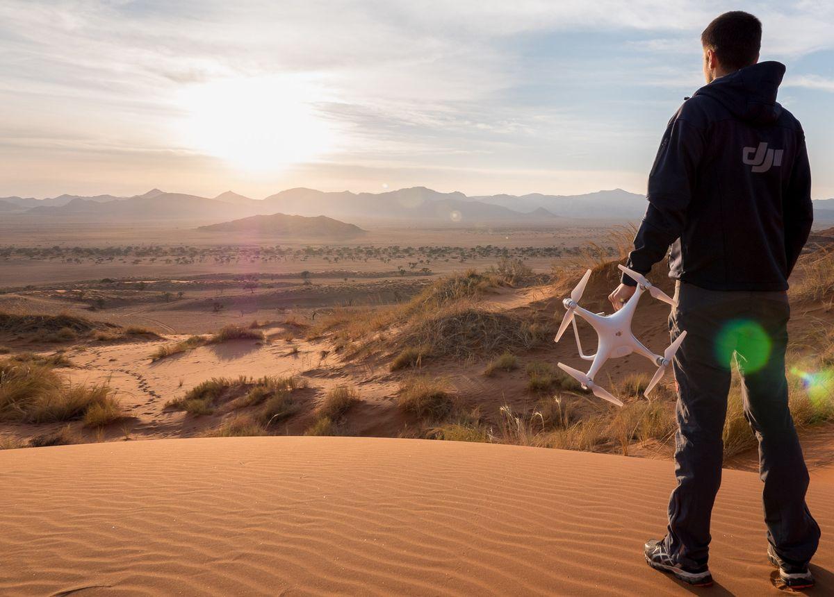 Gewinnspiel von DJI: Ab nach Namibia