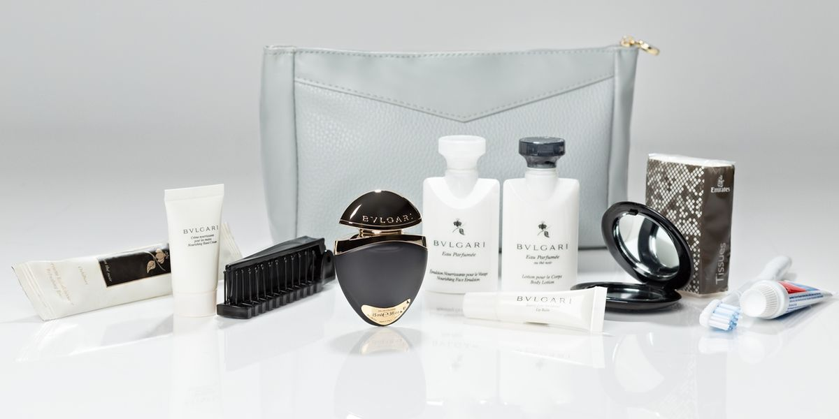 First Class Amenity-Kit, Damen