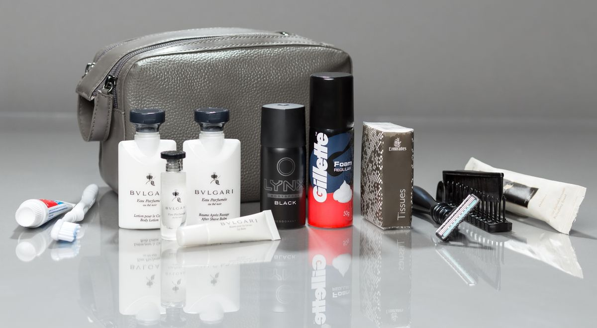 First Class Amenity-Kit, Herren